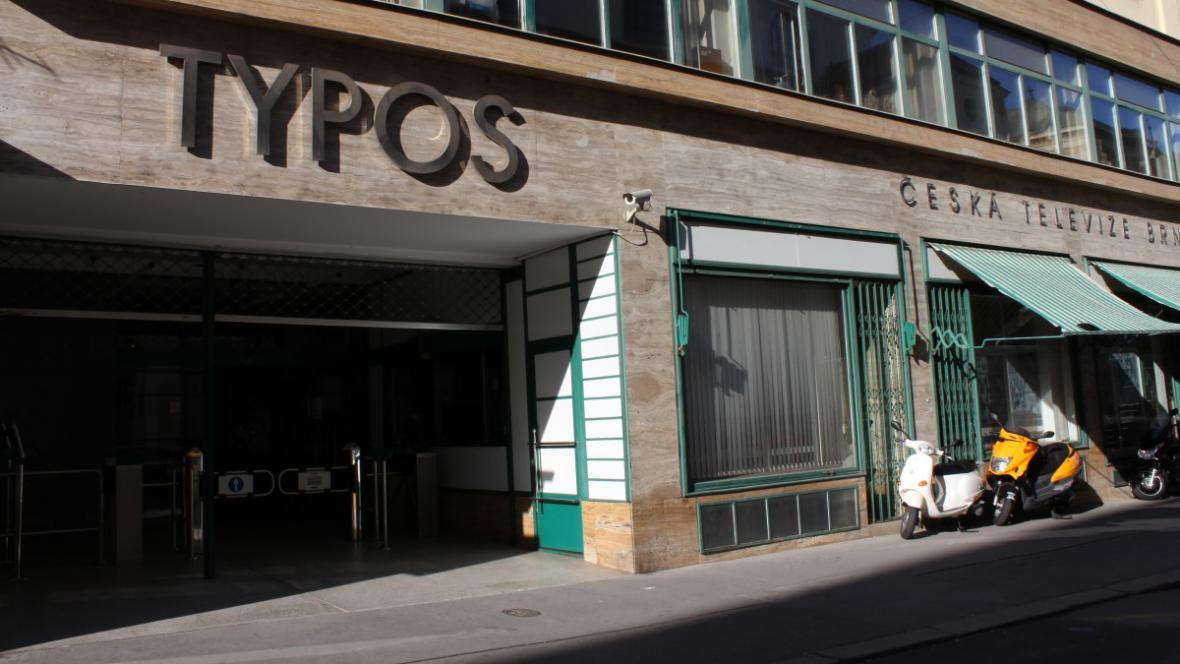 Brněnské studio České televize - budova Typos