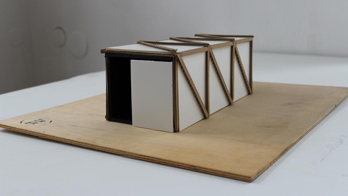 Model výtvarného návrhu Františka Kowolovského