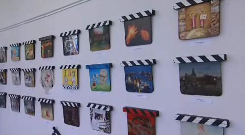Ručně zdobené filmové klapky