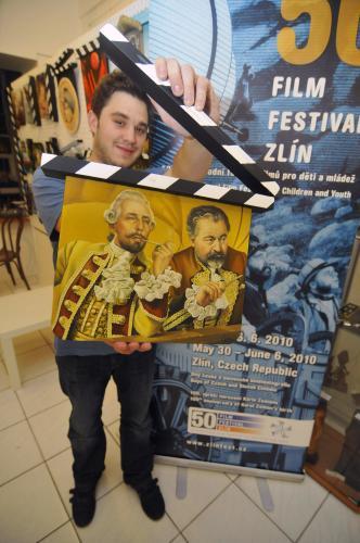 Filmová klapka od Maroše Chury