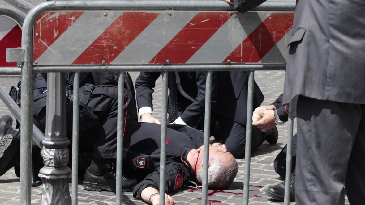 Postřelený policista