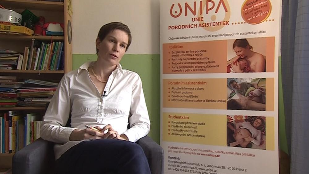 Kateřina Hájková Klíčová, výkonná ředitelka Unie porodních asistentek