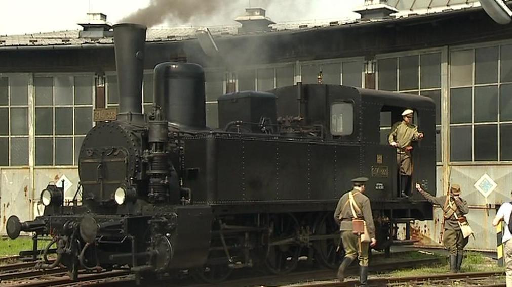 Lokomotiva legionářského vlaku