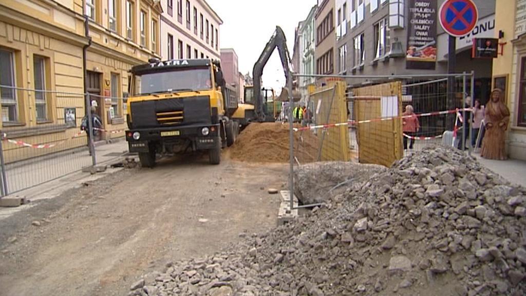 Rekonstrukce Krkonošské ulice ve Vrchlabí