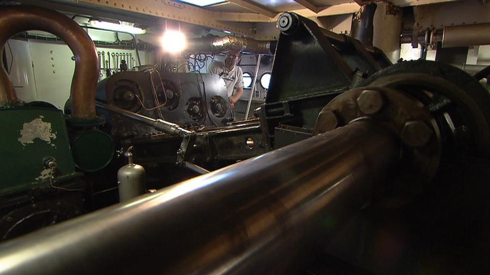 Strojovna parníku Vltava