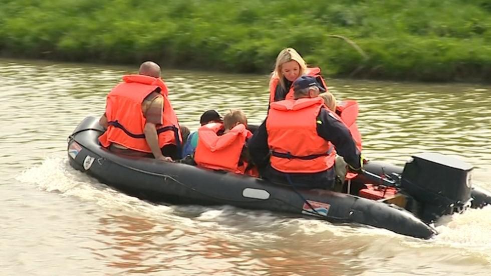 Hasiči trénovali na povodně