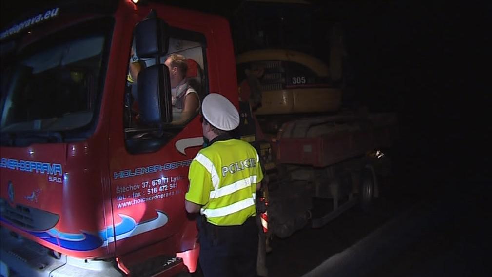 Policisté se zaměřili na polské řidiče spěchající domů