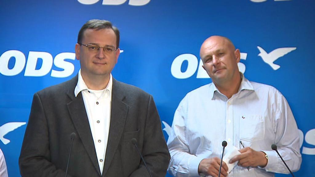 Petr Nečas a Tomáš Julínek