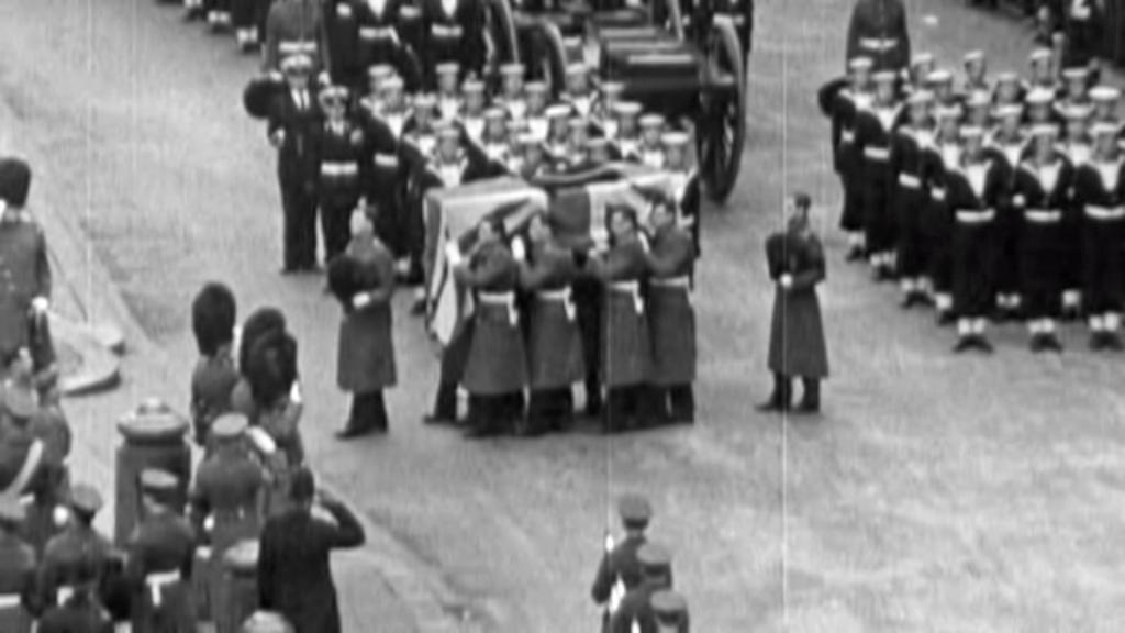 Pohřeb Winstona Churchilla