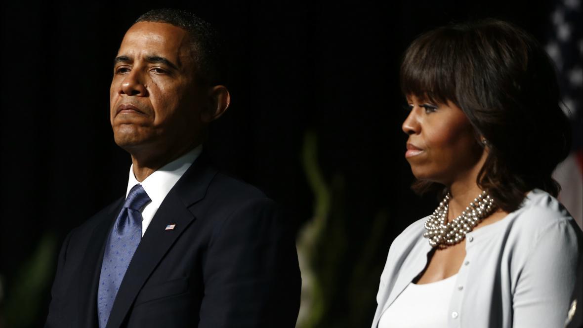 Obřadu ve Westu se zúčastnil i prezident Obama s manželkou