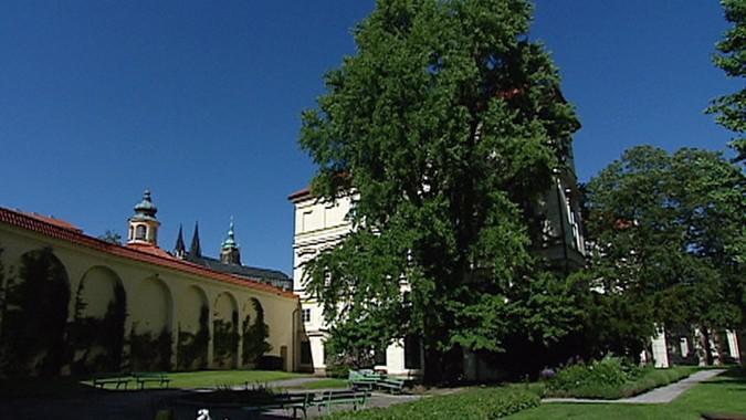 Zahrady Lobkovického paláce