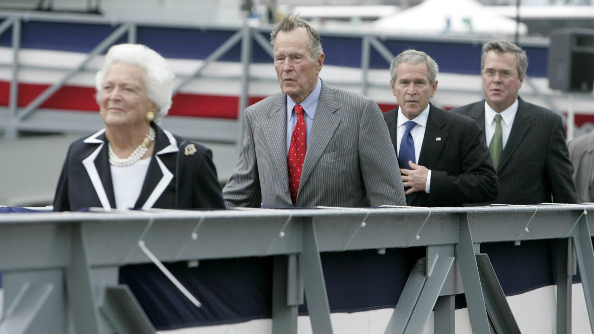 Rodina Bushových