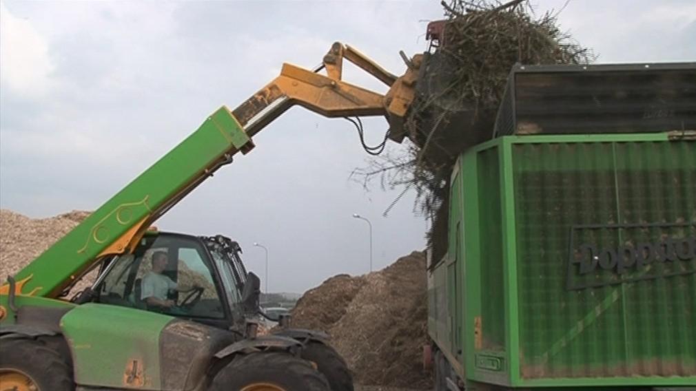 V Žebětíně zpracovávají bioodpad i z jiných regionů