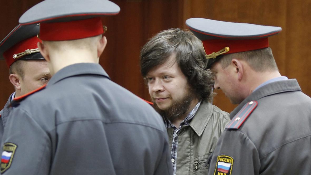 Konstantin Lebeděv u soudu