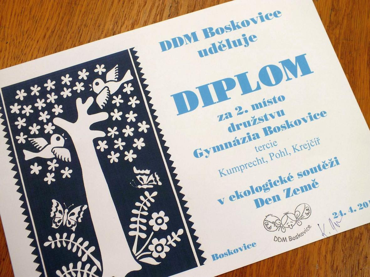 Den Země v DDM Boskovice