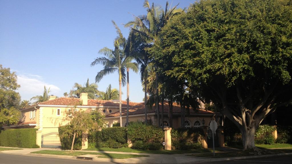 Luxusní vila v Beverly Hills