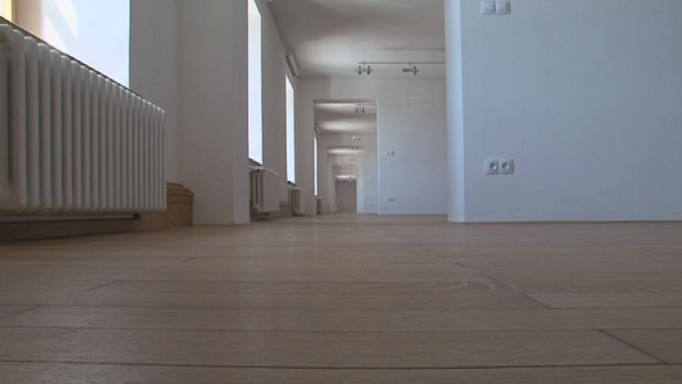 Nové výstaní prostory v jižním křídle budou sloužit od konce května