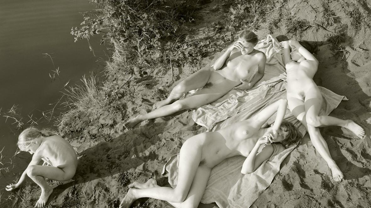 Jock Sturges - Adele, Mylene, Vanessa et Hannah (2003)