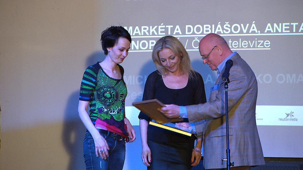 Markéta Dobiášová a Aneta Snopová