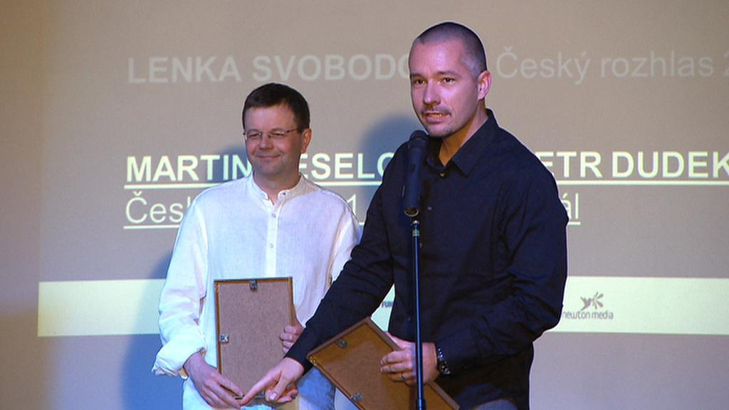 Martin Veselovský a Petr Dudek