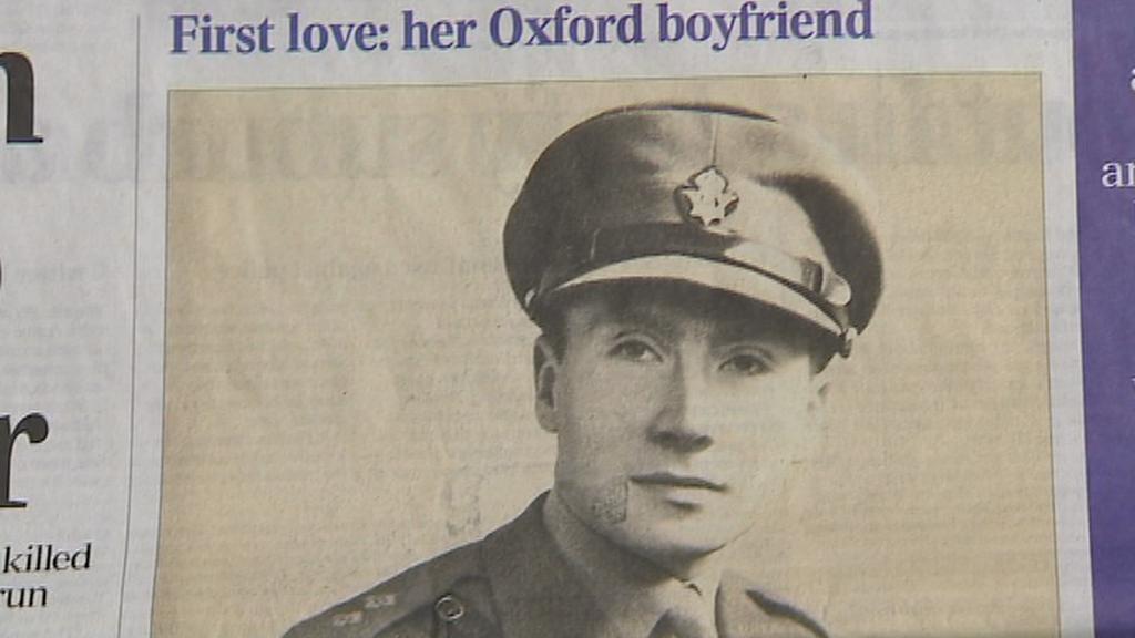 První láska Margaret Thatcherové - voják Tony