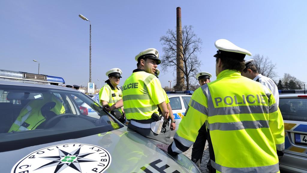 Policie dohlížela na bezpečnost