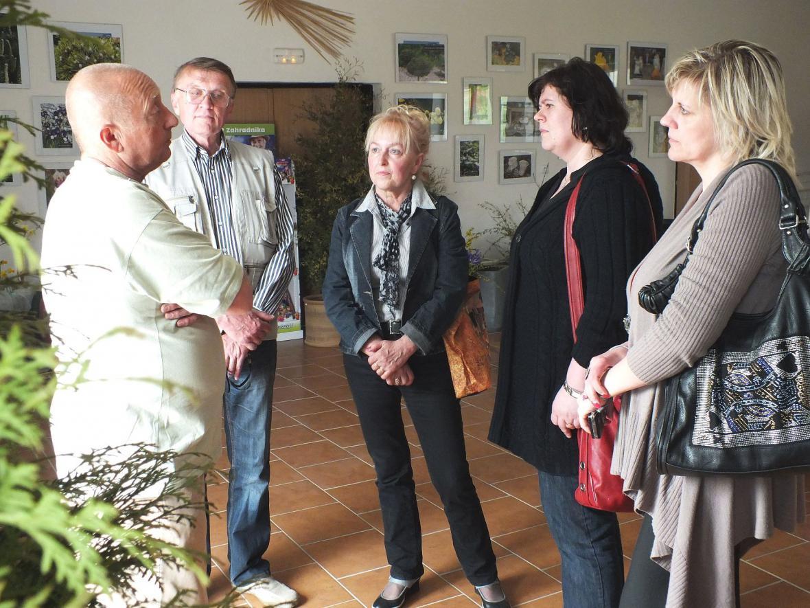 Z výstavy cibulovin v Boskovicích