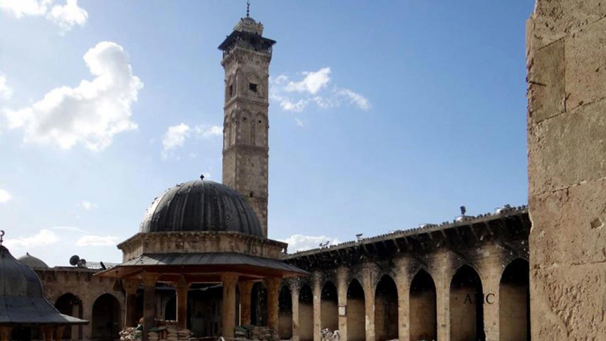 Minaret Umajjovské mešity