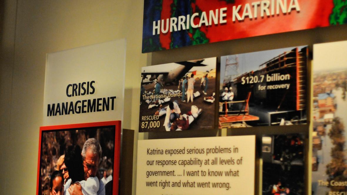 Vzpomínka na hurikán Katrina