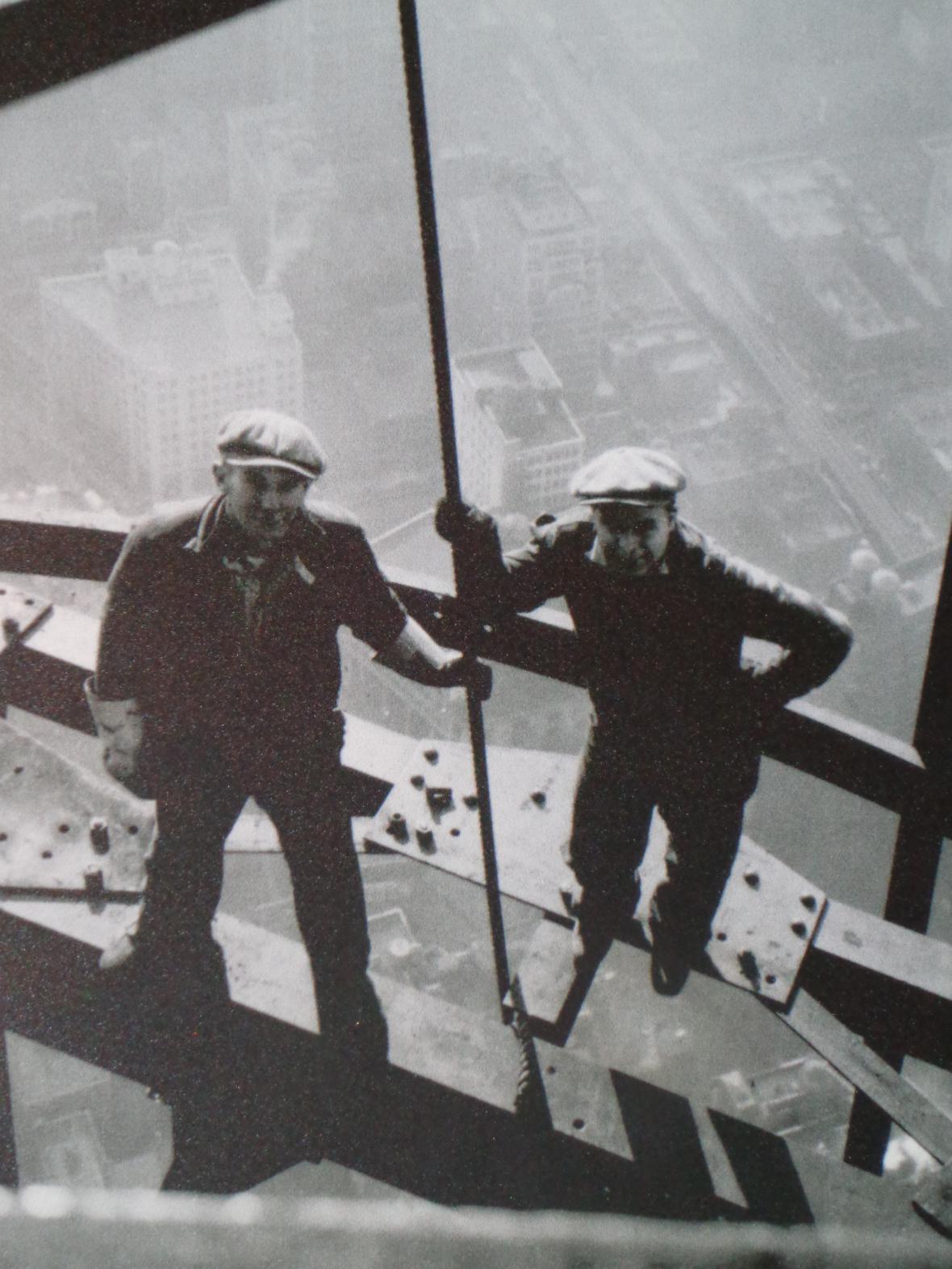 Stavba Empire State Building