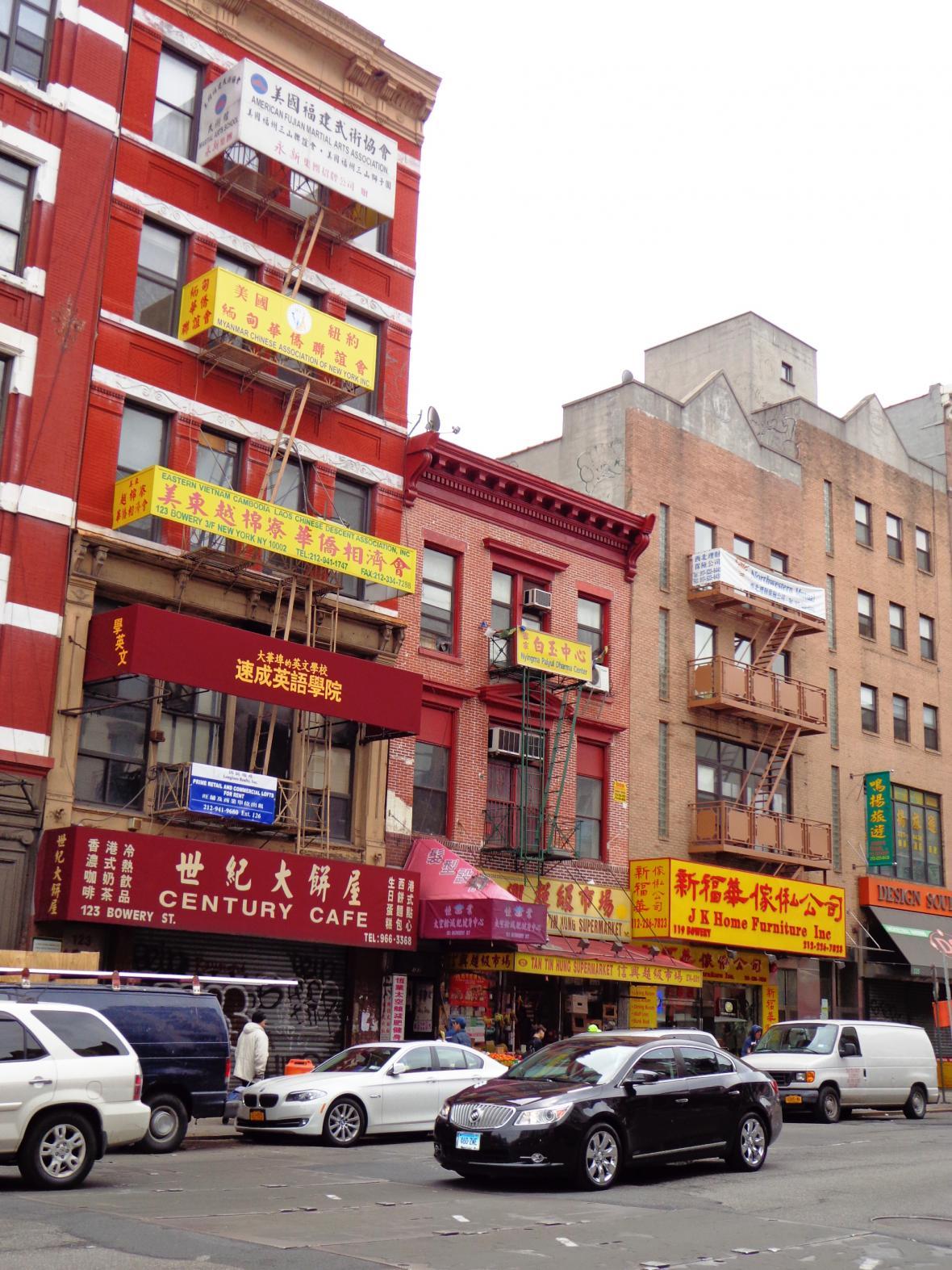 Čínská čtvrť v New Yorku