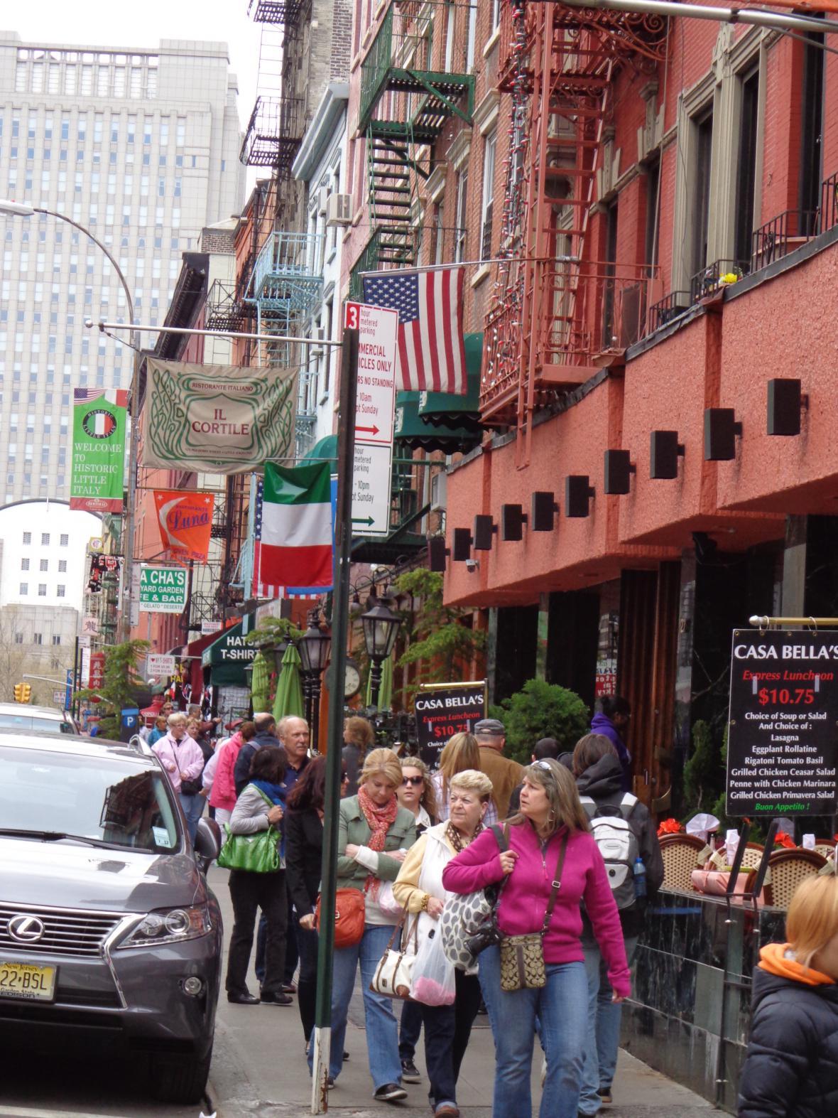 Italská čtvrť v New Yorku