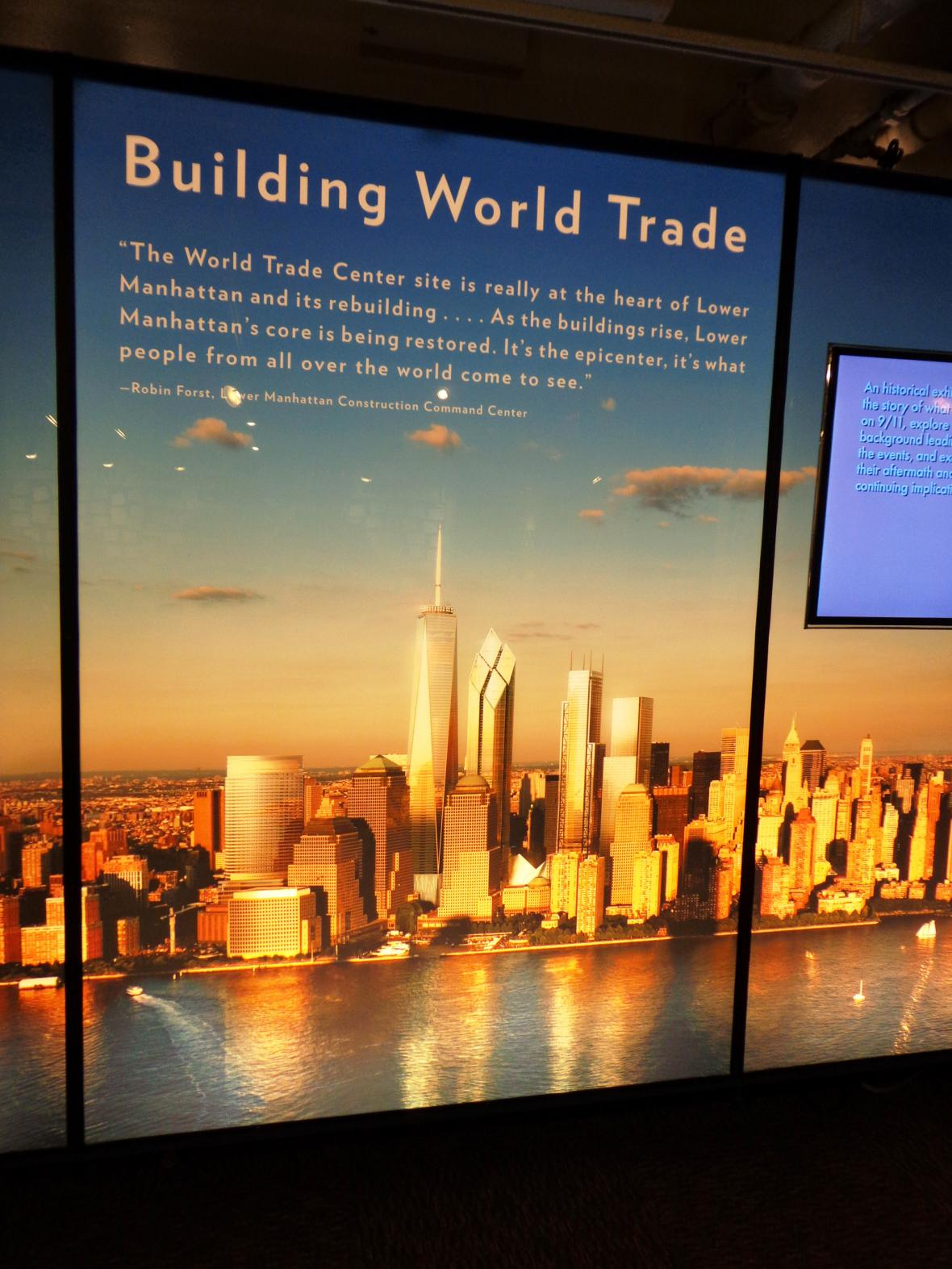 Nové mrakodrapy na Ground Zero