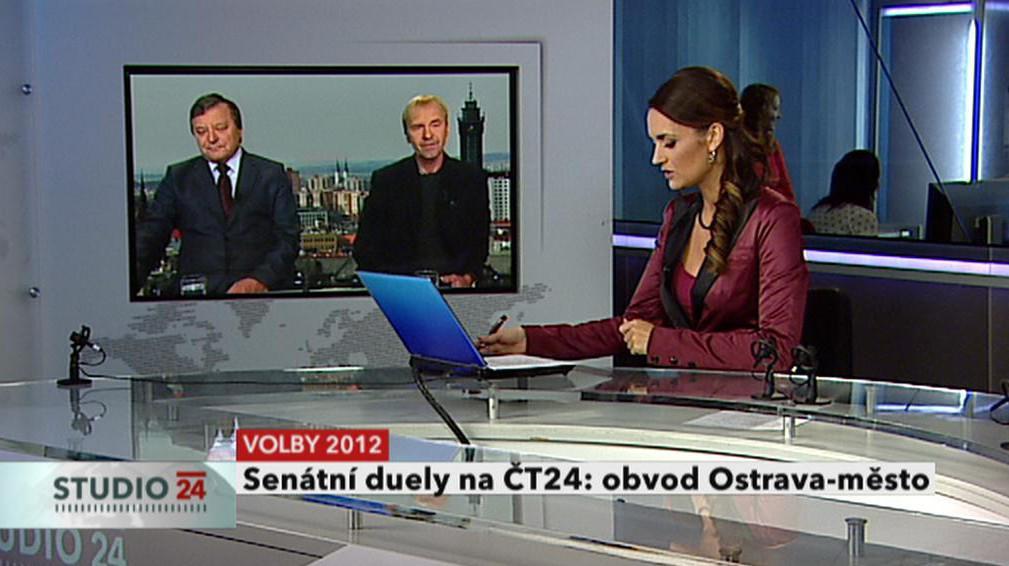 Volební obvod Ostrava-město: Leopold Sulovský (nestr.) - Karel Sibinský (ČSSD)