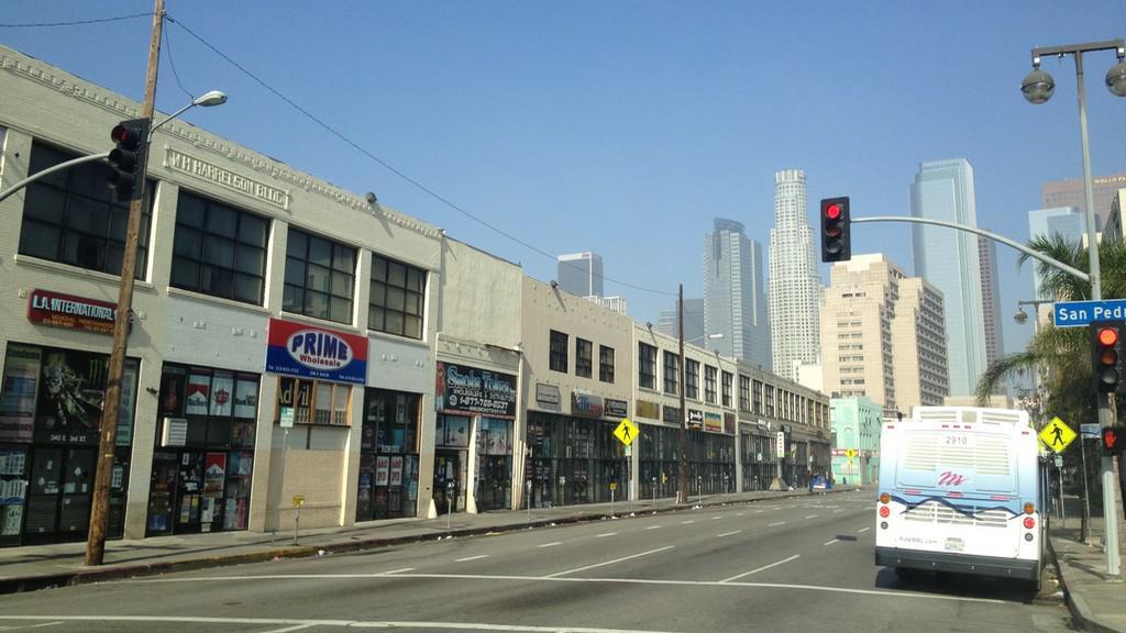 Předměstí Los Angeles