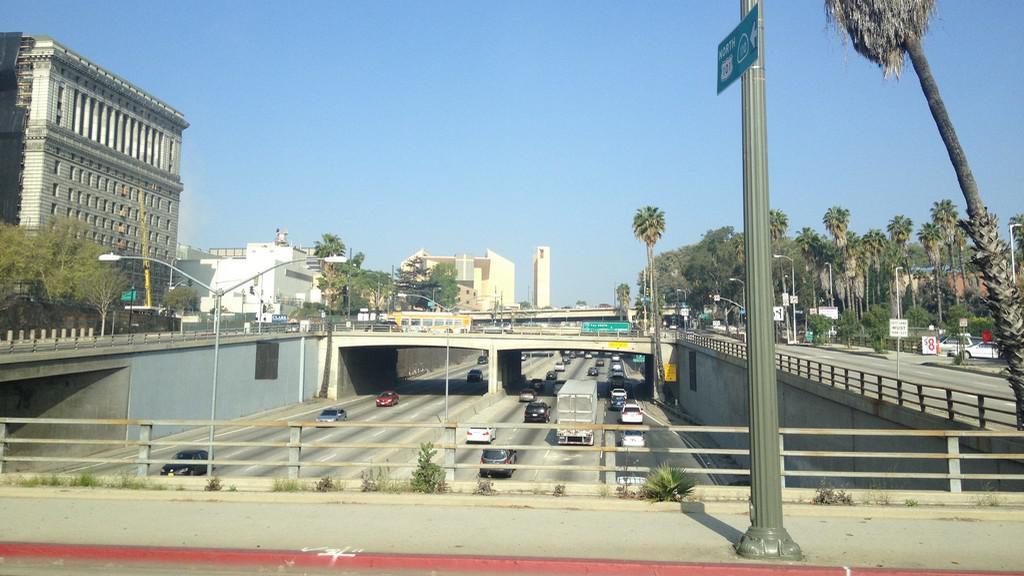 Tranzitní dálnice v Los Angeles