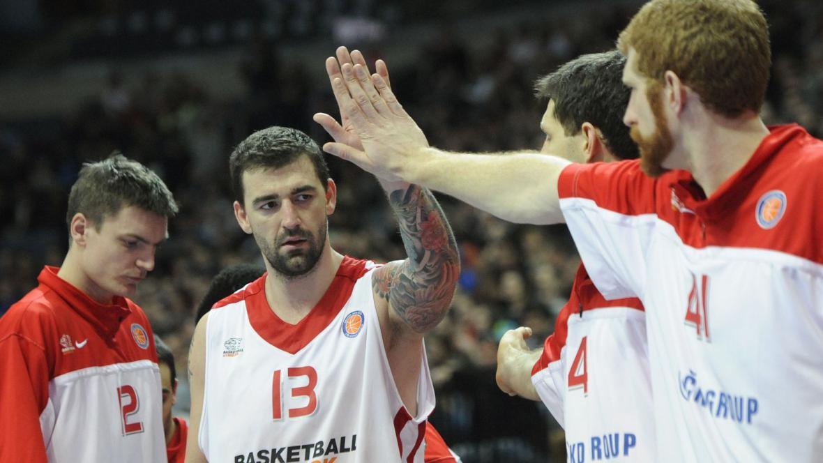Basketbalisté Nymburka