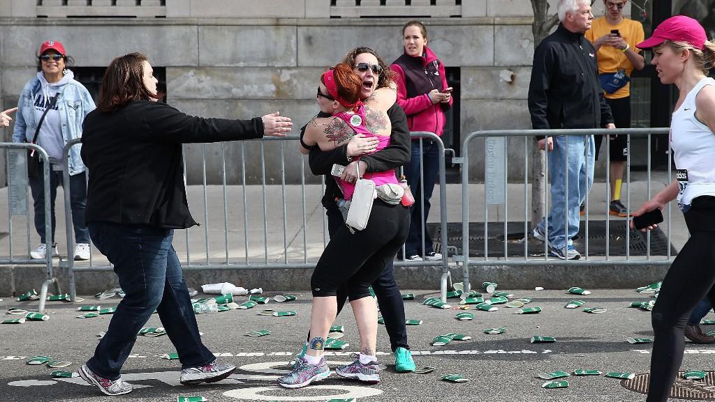 Exploze na maratonu v Bostonu