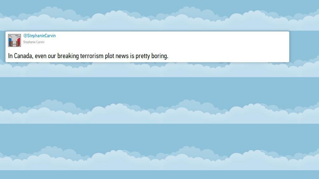Reakce Twitteru na terorismus v Kanadě