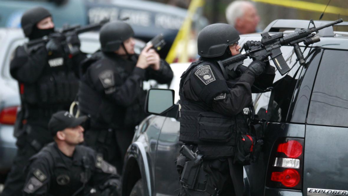 Policejní zásah v Watertownu