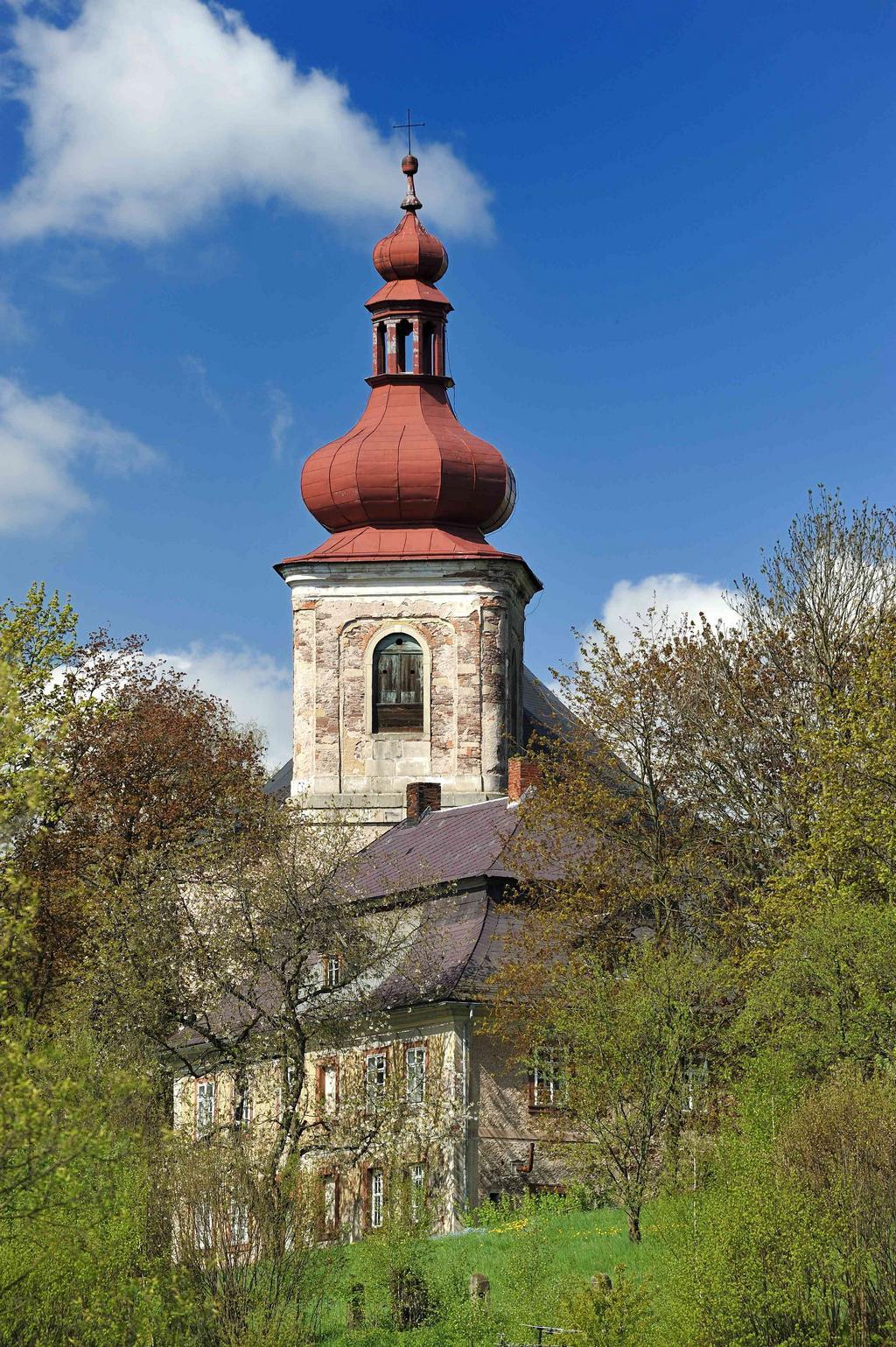 Kostel Všech svatých v Heřmánkovicích