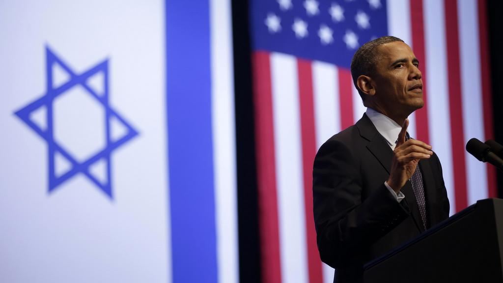Barack Obama v Izraeli