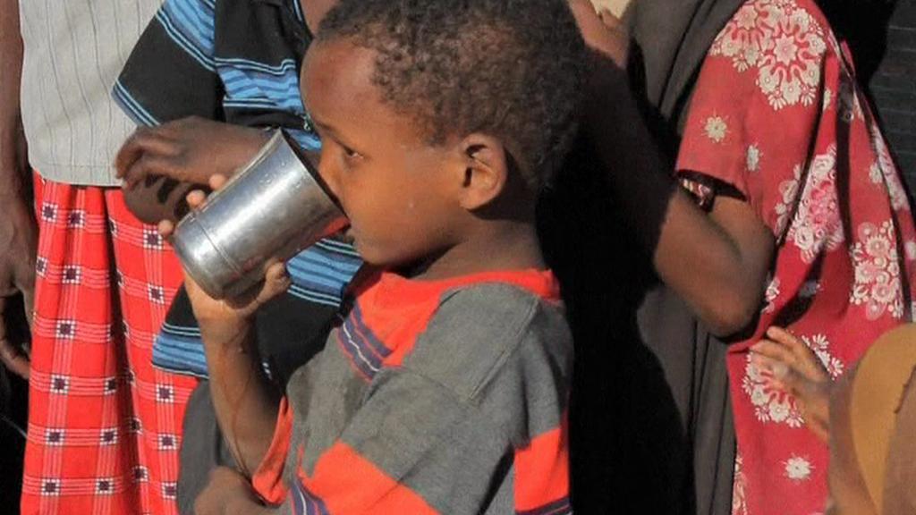 Nedostatek vody v Africe
