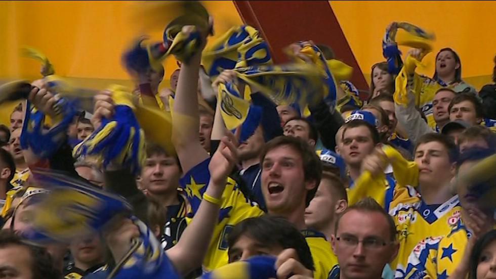 Zlínští fanoušci v euforii