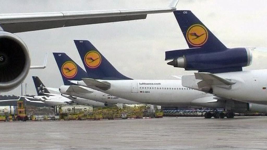 Letadla na zemi