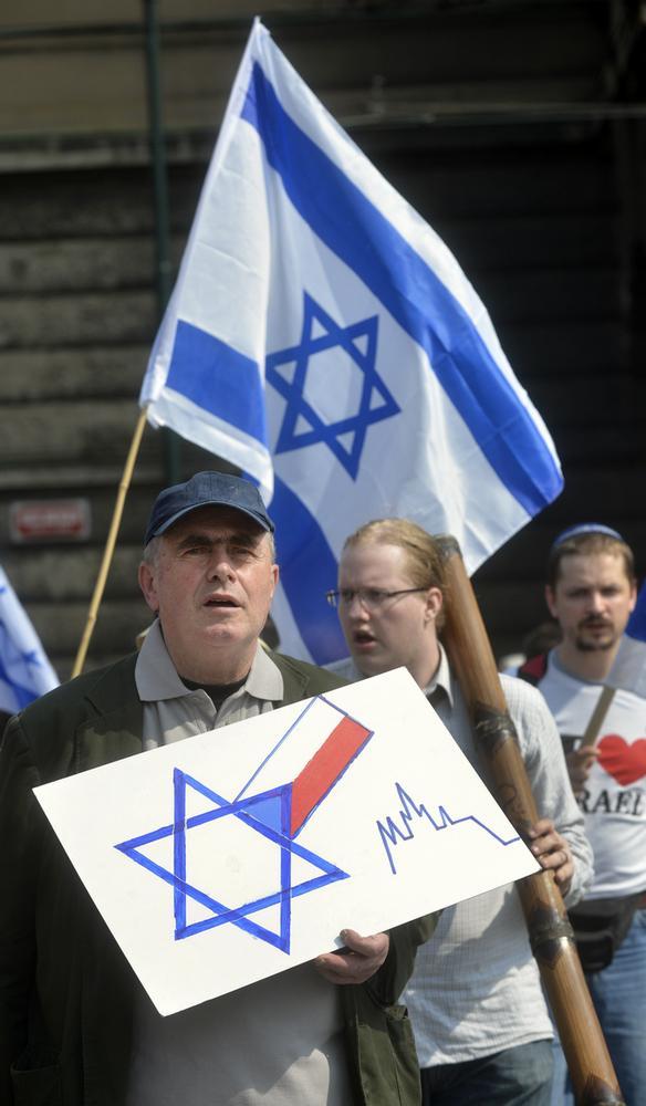 Pochod proti antisemitismu
