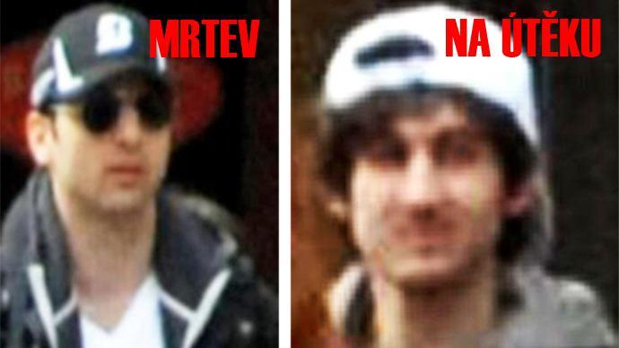 Pachatelé bostonského útoku Tamerlan a Džochar Carnajevovi