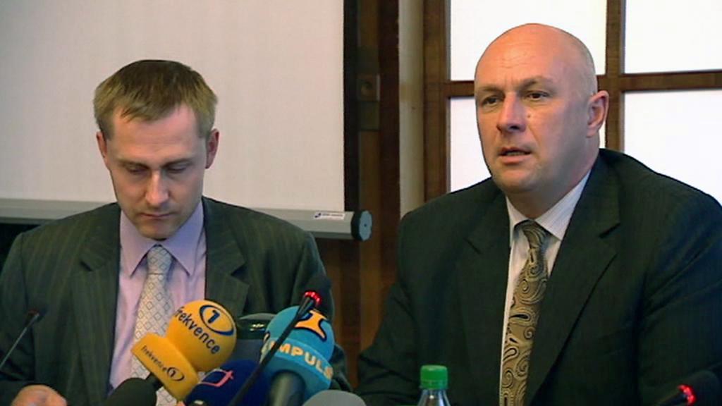 Tomáš Julínek s Pavlem Hroboněm