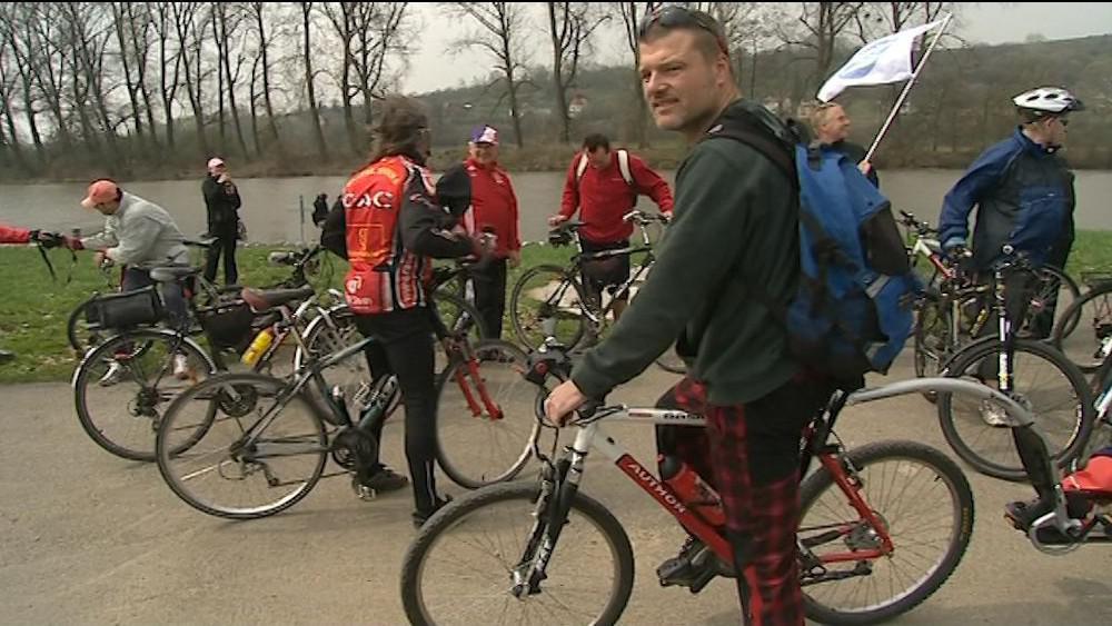 Zahájení cyklosezony podél Baťova kanálu