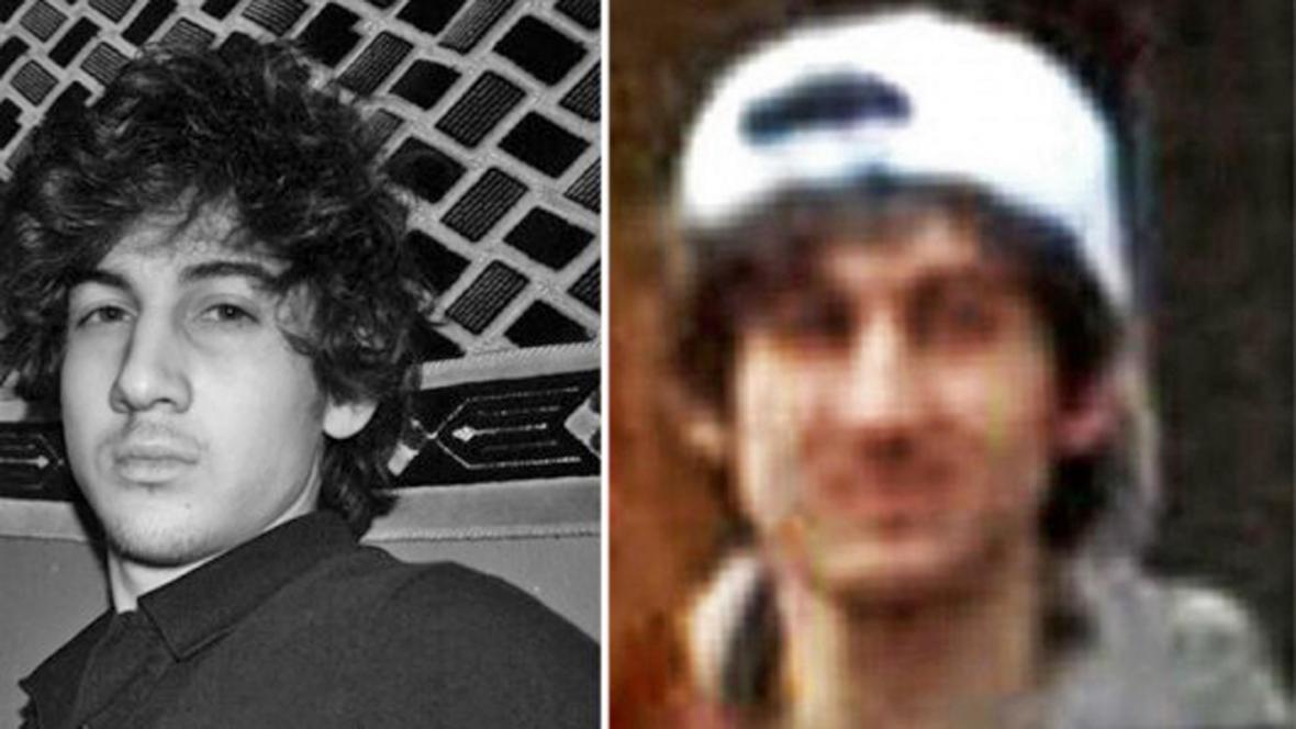 Džochar Carnajev, muž podezřelý z bostonského atentátu